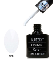 BlueSky Shellac белый №526